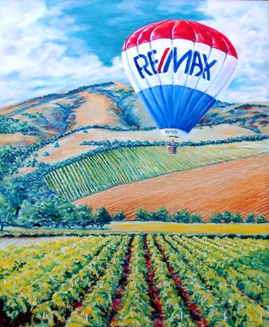 ReMax Oil Painting by Patrick Raymond